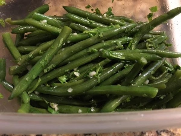 Green Beans With Coriander And Garlic Recipe