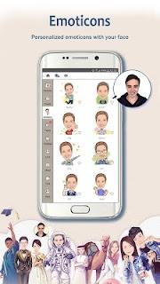 MomentCam Cartoons & Stickers screenshot 01