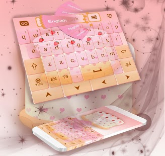 Sweetie Theme For GO Keyboard - náhled