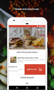 Carriage - Food Delivery- screenshot thumbnail