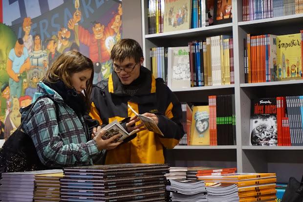 L'Arche à Reims au Festival de la bande-dessinée d'Angoulême 2015