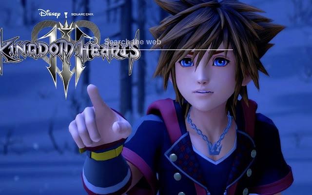 Kingdom Hearts 3 HD Wallpaper Tab Theme
