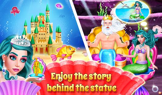 Mermaid & Prince Love Story - náhled