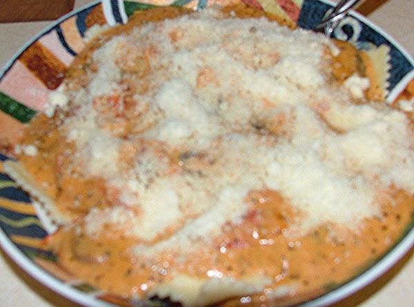 Tuscan Pasta With Tomato-basil Cream Recipe