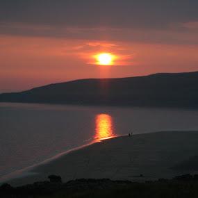 by Rachel Startin - Landscapes Beaches ( scotland, sunset, sea, beach, gairloch )