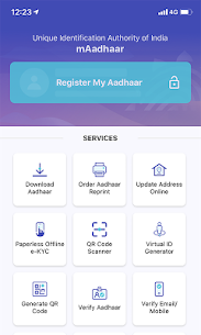 mAadhaar App Download For Android and iPhone 3