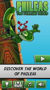 Falling Gecko screenshot