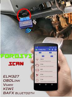 FordSys Scan Free (OBD2 & ELM327) - náhled