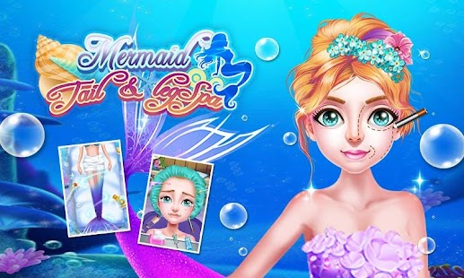Download Mermaid Tail & Leg Spa For PC Windows and Mac apk screenshot 1
