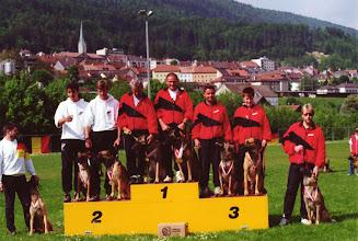 Photo: Mannschafts-Europameister mit Lutin 1 er Samourai 4 er