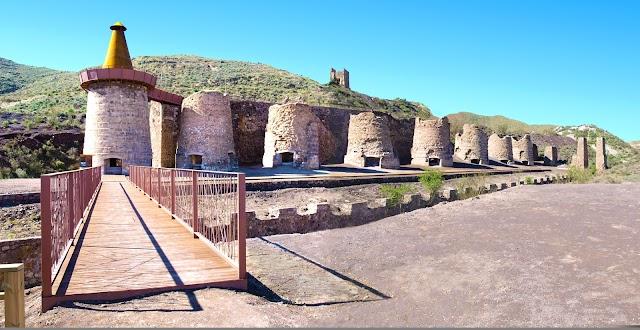 Los hornos de calcinanción de Lucainena de las Torres.
