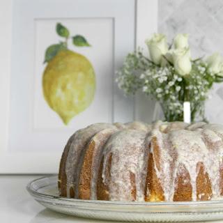 Easy Lemon Pound Cake with Lemon Glaze Recipe