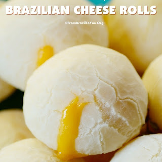 Cheddar filled Brazilian Cheese Rolls
