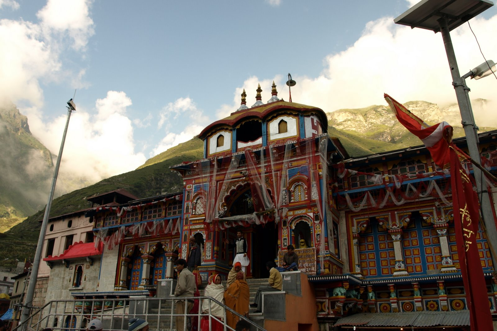 Photo: Best photograph of Badrinath Temple