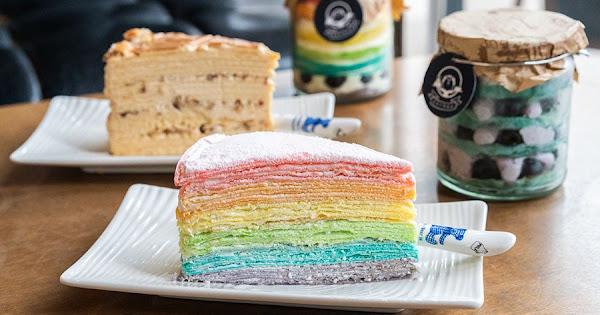 木木江鳥衣谷(高雄)螞蟻人必訪甜點店!夢幻繽紛彩虹千層蛋糕,輕鬆帶著走可愛千層罐罐