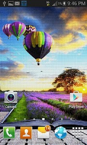 Purple Land Live Wallpaper screenshot 1