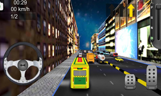 3D Bus Simulator apktram screenshots 1
