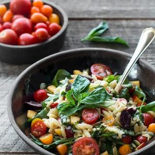 Quick Orzo Pasta Salad