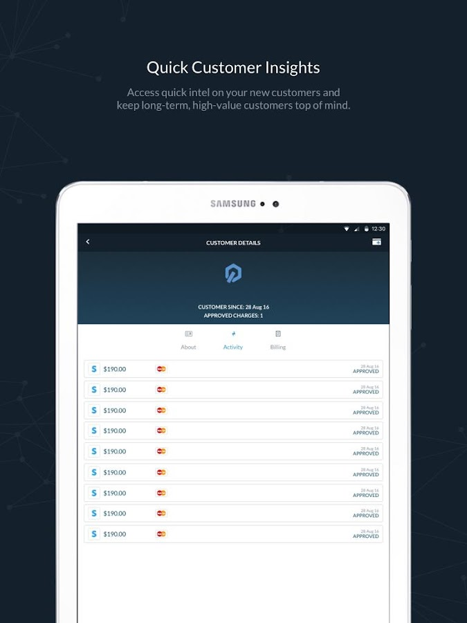 Control: Stripe, PayPal & Square Analytics- screenshot