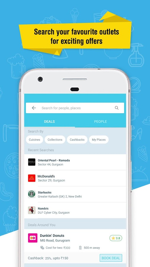 magicpin: restaurants, fashion, cashback, deals- screenshot