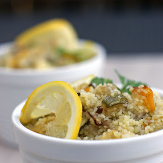 Roasted Veggie Cous Cous and the memories of the Cous Cous Fest in Sicily.