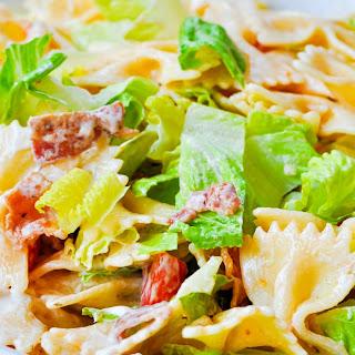 Zesty Ranch BLT Pasta Salad