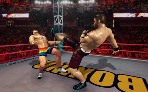 Royal Wrestling Cage: Sumo Fighting Game 1.0 screenshots 1