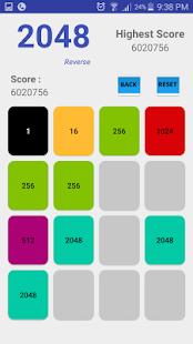 2048 Reverse - náhled