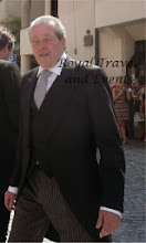 Photo: the grooms father Prince Michel of France, Count of Evreux