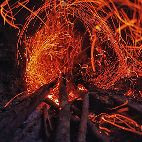 Fire wave by Goddes Puffz - Abstract Fire & Fireworks ( #awesome, #hot, #fire, #stilllife, #abstract )