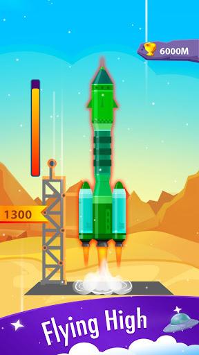Télécharger Rocket Blue: Flying! mod apk screenshots 2