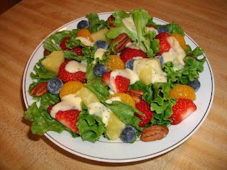 Fruity Tossed Salad Recipe