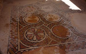 Photo: Byzantine Church tile floor