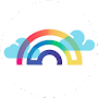 Rainbow Canvas Printing APK icon