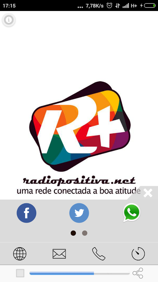 Rádio Positiva Net- screenshot