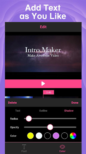 Intro Maker - intro creator with music for Youtube cheat hacks