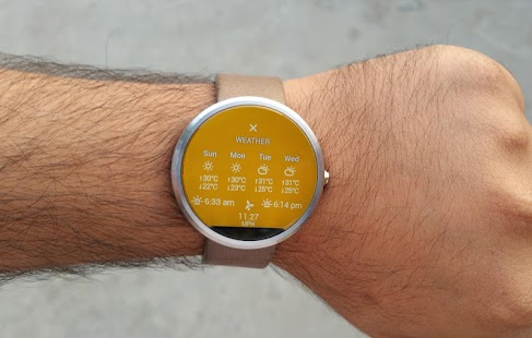Watch Face - Material Interactive- screenshot thumbnail