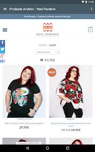 real pandora plus size clothes - android apps on google play