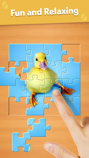 Jigsaw Puzzle: Create Pictures with Wood Pieces screenshot 2