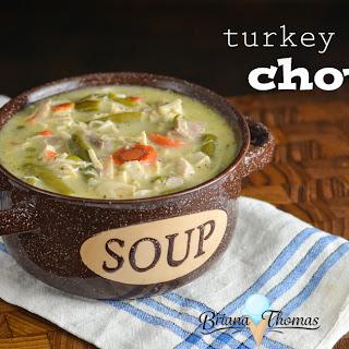 Turkey Pot Pie Chowder