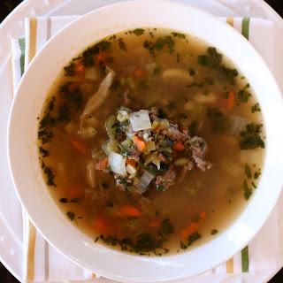 New Mexico Green Chili Stew.