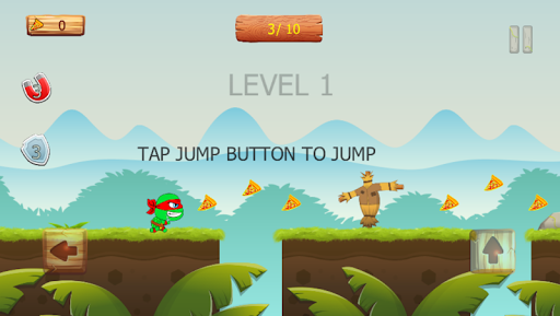 Ninja jump: Mutant kids adventure HD game apkmr screenshots 3