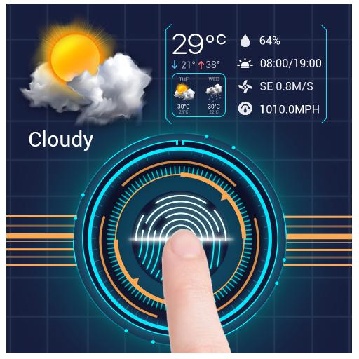 Fingerprint Lock with World Weather&Clock