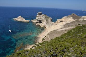 Photo: malebná pláž de St. Antoine s ostrovom ile St. Antoine, je zároveň najjužnejšie miesto Korziky