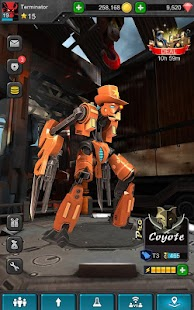 Iron Kill Robot Fighting Game Robo Juegos de Lucha Screenshot