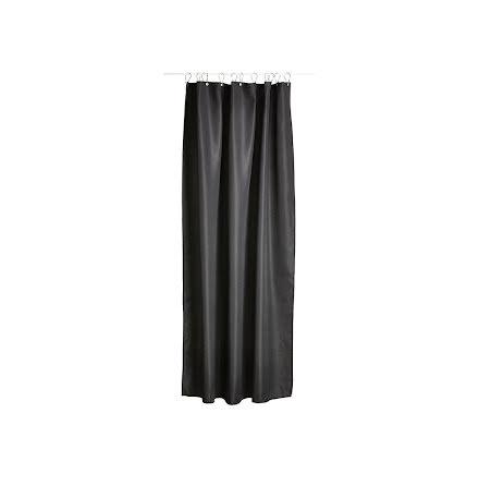 Zone Lux Duschdraperi 200 x 180 cm black