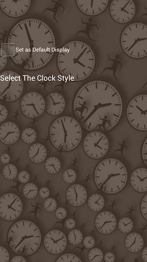 AppLockテーマアナログ時計