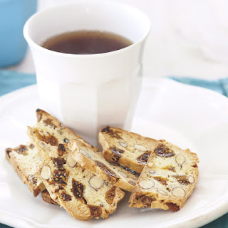 Peppered Fig and Almond Biscotti