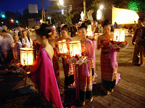 Photo: Lantern Ladies #WomenWednesday - I love this image and couldn't care less about it being blurred!  Photography by Justin Hill ©