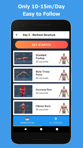 Strong Arms in 30 Days - Biceps Exercise Screenshots 4